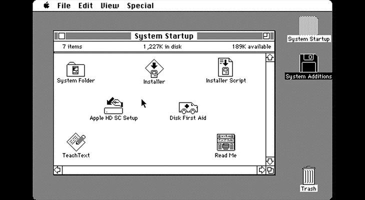 Gracias a este emulador ahora podemos saber cómo era utilizar un Mac en los 80