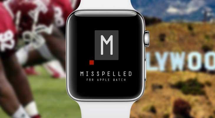 Misspelled es el juego ideal para el Apple Watch