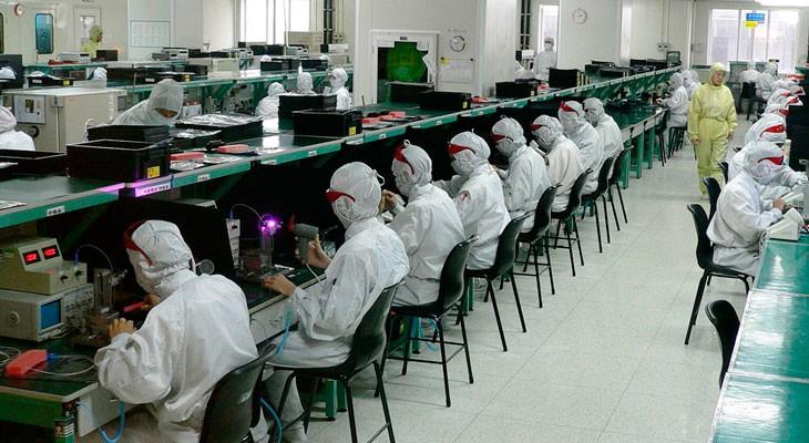Trabajar en la cadena de montaje del iPhone no es ningún chollo