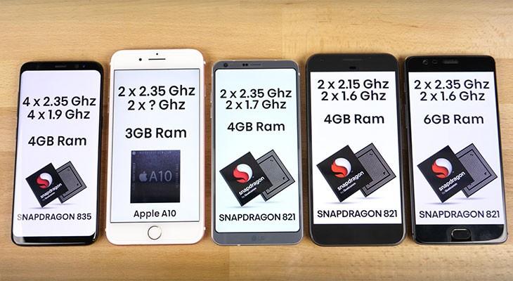 El iPhone 7 Plus humilla a los principales smartphones Android en un test de velocidad