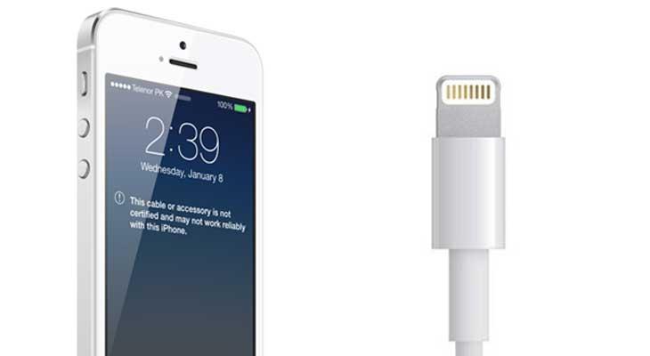 iOS 10.3 ha hecho que los cables Lightning no certificados dejen de funcionar