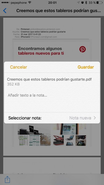 convertir-mail-a-PDF-iPhone