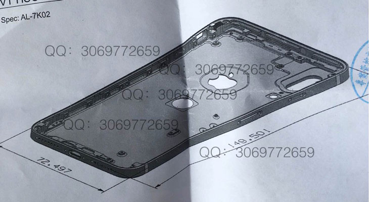 Se filtra nuevo dibujo de un iPhone 8 con Touch ID en la parte trasera