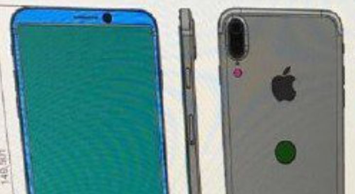 Se filtra un supuesto esquema del iPhone 8… que esperamos que no sea real