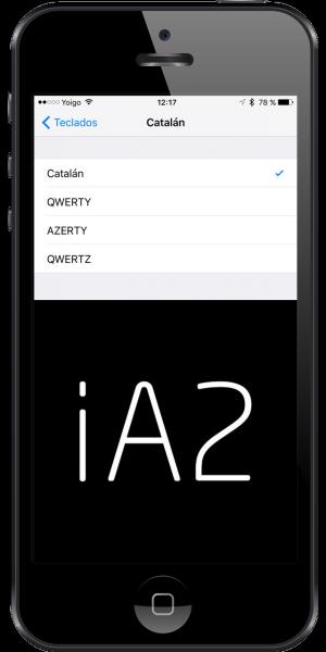 corrector ortográfico en catalán para iOS
