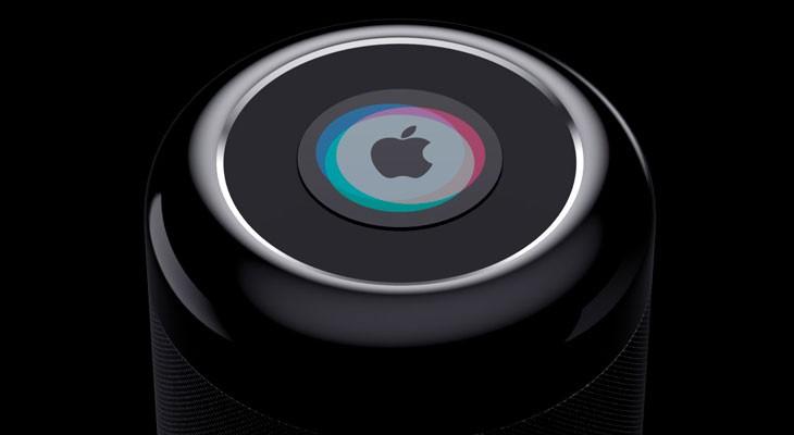 El altavoz Siri de Apple podría complementar los comandos de voz con un panel táctil físico