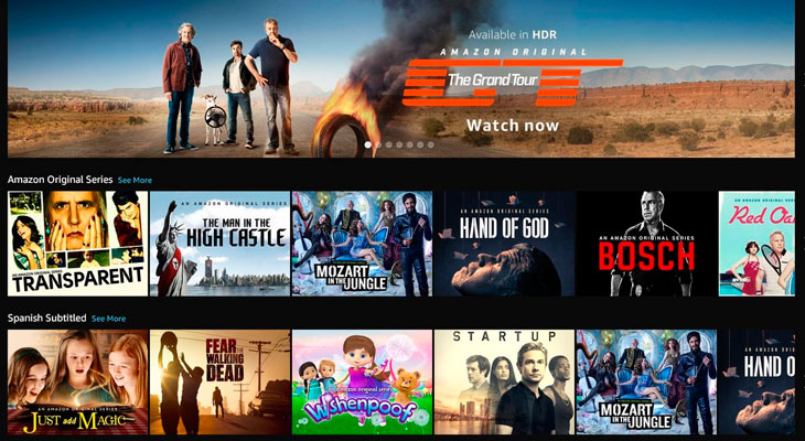 La app de Amazon Prime Video pronto estará disponible para Apple TV
