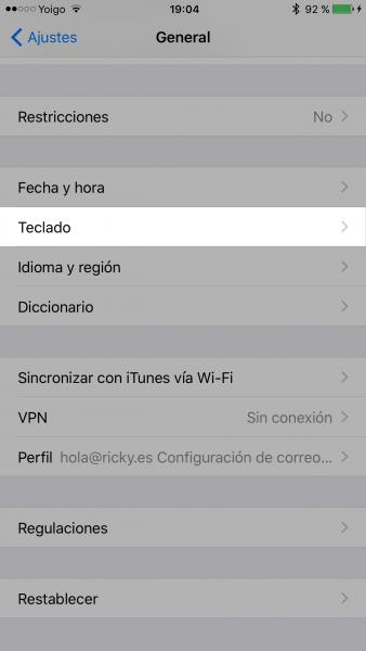 Cómo activar los emojis en iOS con el iPhone