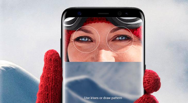 Así de fácil es engañar al escáner de iris del Galaxy S8