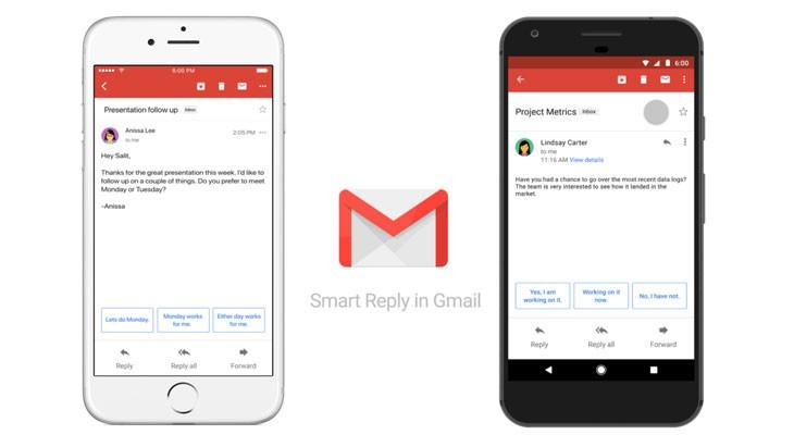Smart Reply: las respuestas inteligentes llegan a Gmail para iOS