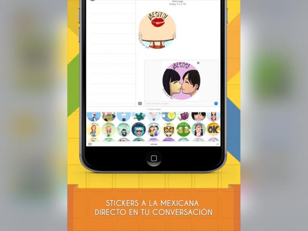 Sticker WhatsApp a la mexicana