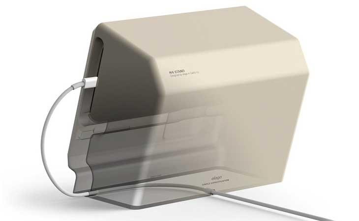 Soporte Mac Vintage para iPhone 7 y iPhone 6/6S