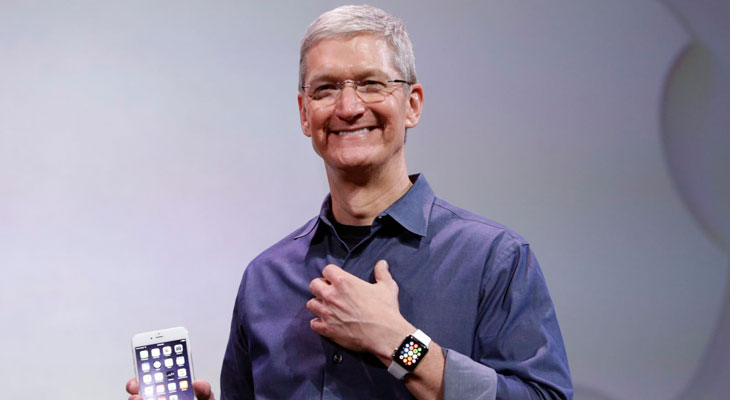 Tim Cook ya está probando el monitor de glucosa del Apple Watch