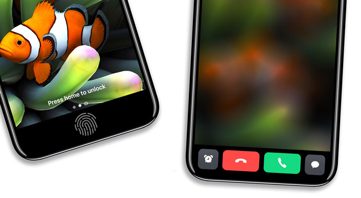 Así podría ser el área de función del iPhone 8