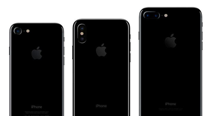 Así será el iPhone 8 comparado con el iPhone 7 y el Galaxy S8