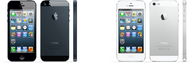 Colores iPhone 5