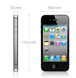 Medidas iPhone 4