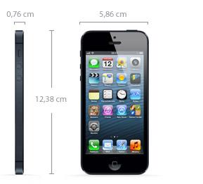 Medidas iPhone 5