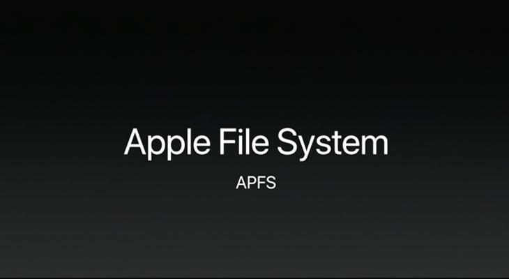 El Mac también se pasa a APFS, más rapidez para nuestros archivos