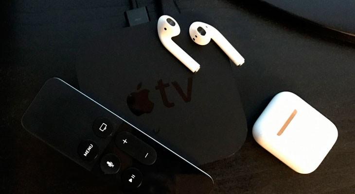 Con tvOS 11 los AirPods se sincronizarán automáticamente con el Apple TV