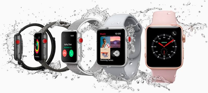 Apple Watch Series 3 Resistencia al Agua