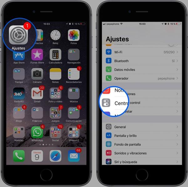 Configurar-control-center-iOS-11