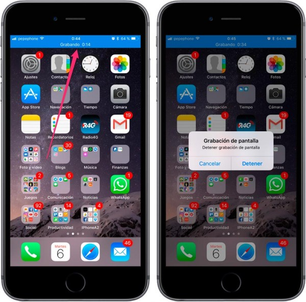Record-screen-iOS-11