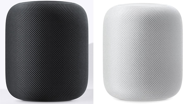HomePod: Colores Negro y Blanco