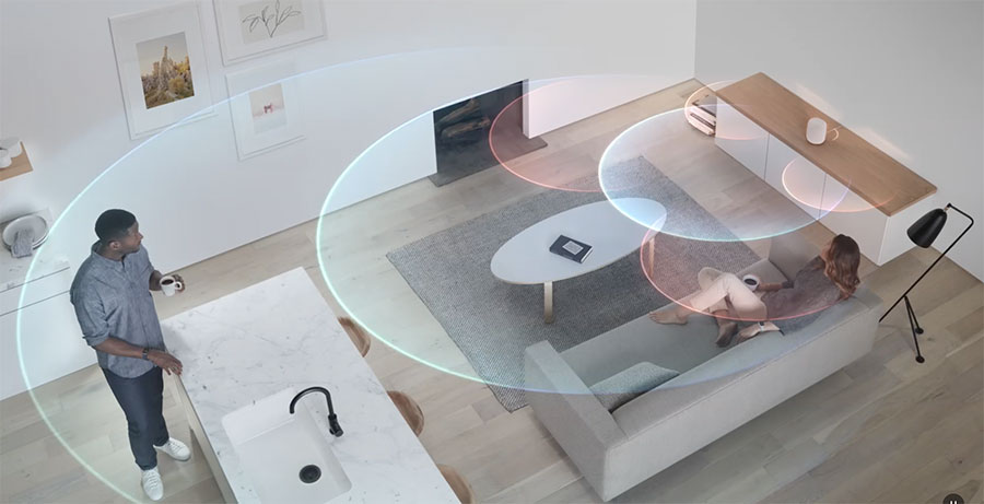 HomePod se adapta a habitación