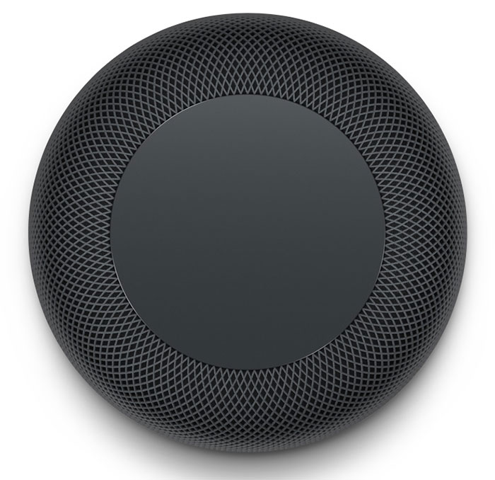 HomePod: zona superior