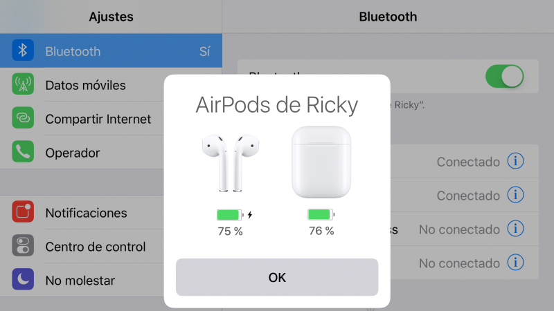 Conectividad AirPods - Review AirPods
