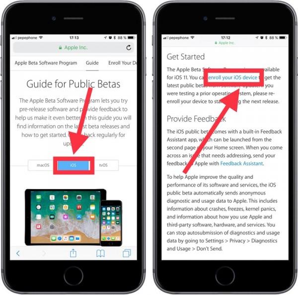 Instalar-iOS-11-Beta