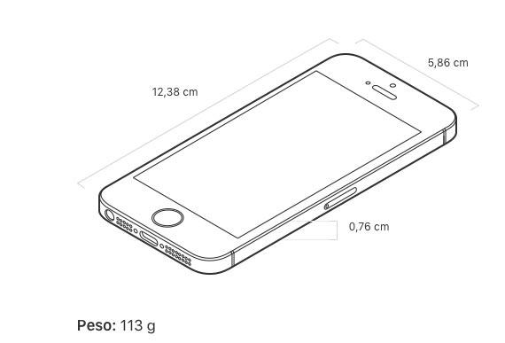 Medidas-y-peso-iPhone-SE