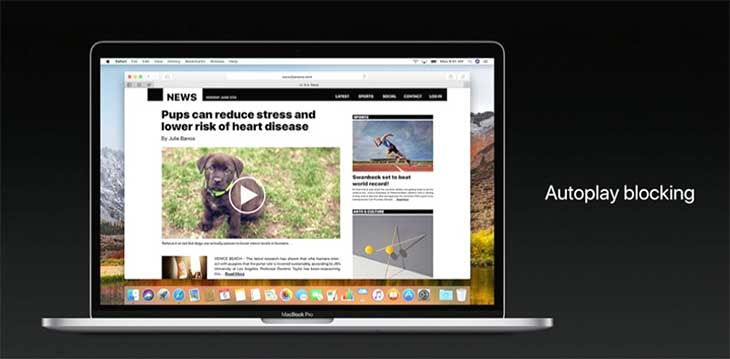 Safari en macOS High Sierra