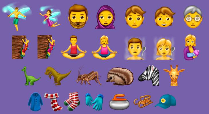 Estos son los nuevos emojis que llegarán al iPhone en unos meses