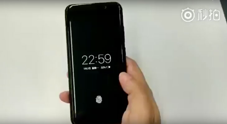 Así funciona un SmartPhone con huella digital integrada en la pantalla, y no es de Apple… [Vídeo]