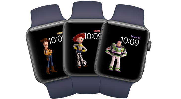 Así son las nuevas WatchFaces de Toy Story para el Apple Watch [Vídeo]