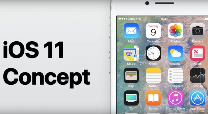 No nos importaría que iOS 11 se pareciera a este nuevo concepto [Vídeo]
