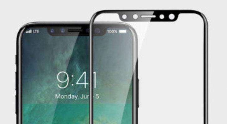 Se filtra un protector de pantalla para el iPhone 8 que confirma su diseño