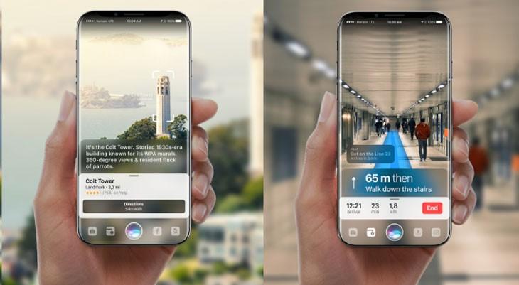 Un suministrador de Apple da pistas sobre las funciones de realidad aumentada del iPhone 8