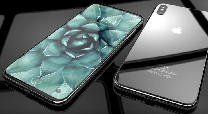 Así quedaría un iPhone 8 (de verdad y encendido) en las manos [Vídeo]