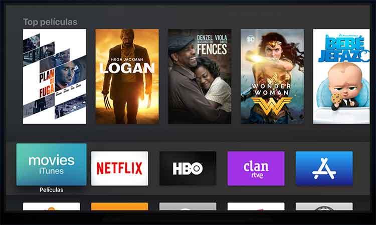 tvOS 11 en Apple TV 4K