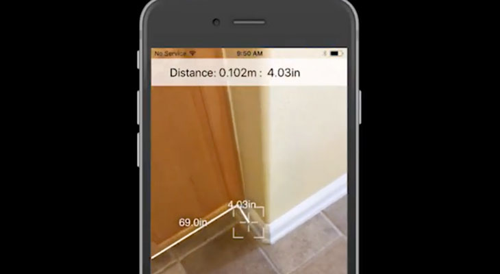 Así de fácil es medir una habitación con ARKit [Vídeo]