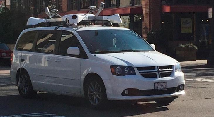 Los vehículos de Apple Maps llegan a España
