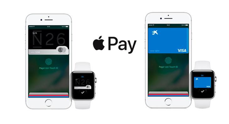 Apple Pay se expande en España: CaixaBank y N26 se unirán antes de final de año
