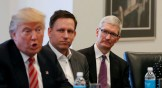 """Apple construirá tres """"grandes"""" fábricas en Estados Unidos… según Donald Trump"""