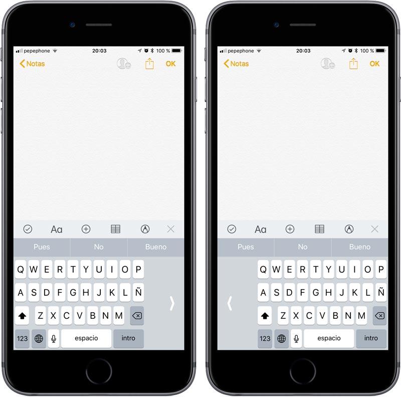 0337d612f7c Cómo activar el teclado de una sola mano en el iPhone | iPhoneA2