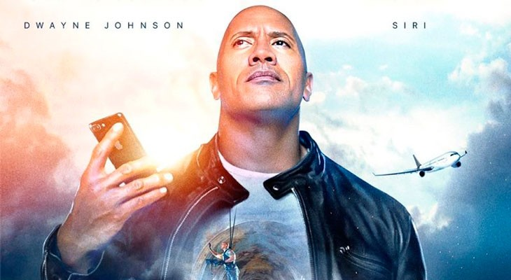 Apple estrena un divertido vídeo protagonizado por Dwayne Johnson y Siri