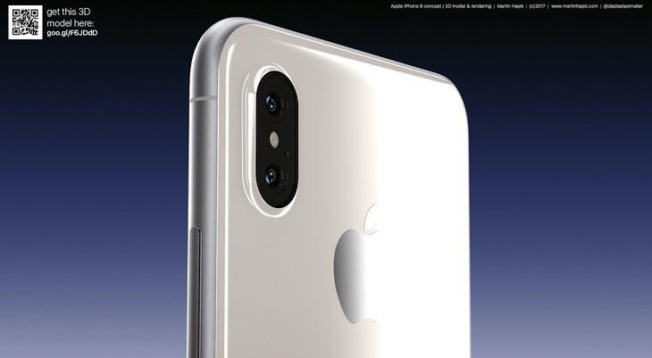 Así sería un iPhone 8 blanco, pero ¿lo hará Apple? [Fotos]