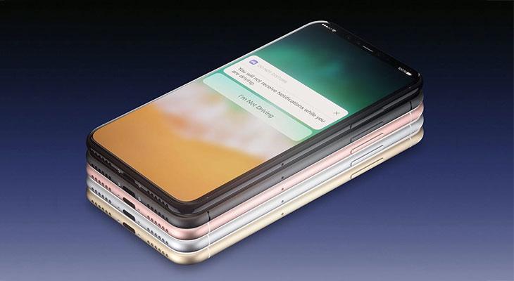 Así quedaría el iPhone 8 en toda la gama de colores del iPhone 7